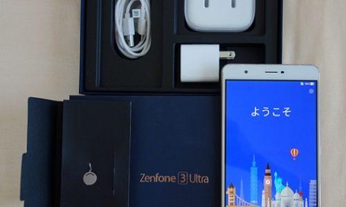 ZenFone 3 Ultraの付属品一覧